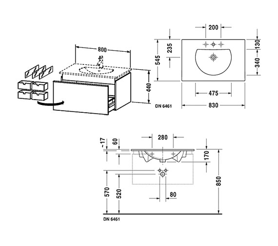 Technical drawing QS-V63304 / DN646101814