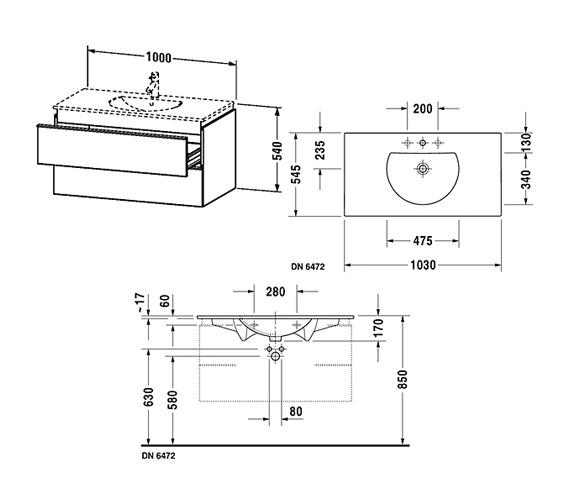 Technical drawing QS-V59305 / DN647201414