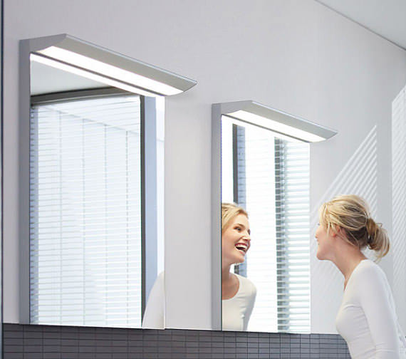 Image 3 of Duravit Darling New Mirror With Lightning 1000x800mm - DN725700000