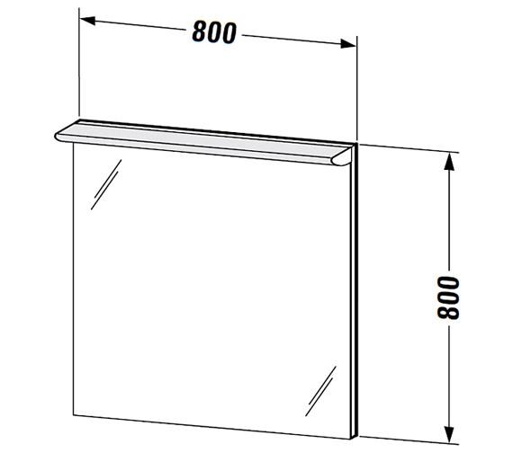 Technical drawing QS-V59316 / DN725600000