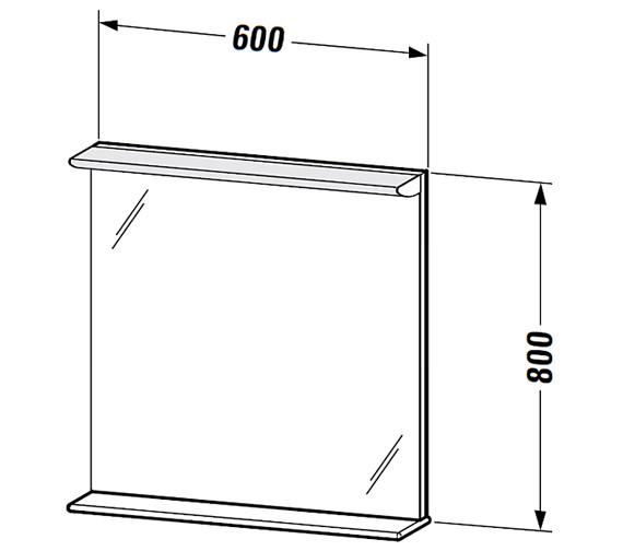 Technical drawing QS-V59320 / DN727501414