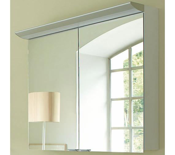 Additional image of Duravit Darling New 600mm 2 Door Mirror Cabinet - DN753501414