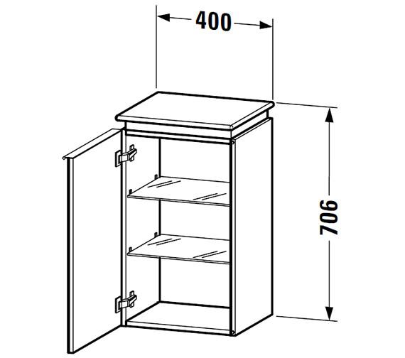 Technical drawing QS-V63310 / DN1270R1414