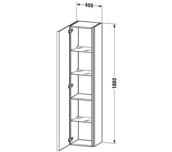 Technical drawing QS-V59334 / DN1274L1414