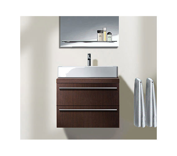 duravit x large wall mounted vanity unit 545 x 1000mm. Black Bedroom Furniture Sets. Home Design Ideas