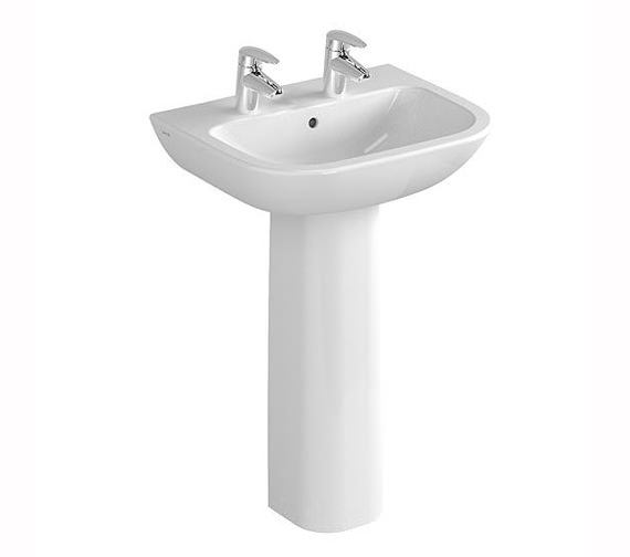 Additional image of VitrA S20 1 Tap Hole Basin 55cm - 5502L003-0999