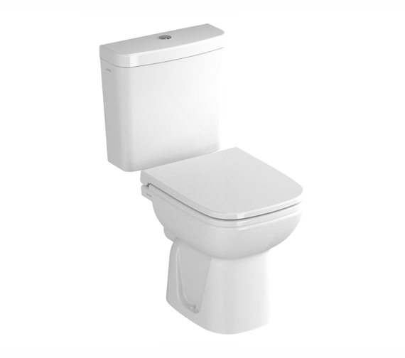 VitrA S20 Close Coupled WC With Cistern And Seat - 5511L003-0075