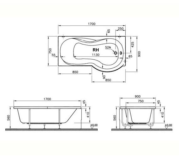 Technical drawing QS-V59766 / 50430001000
