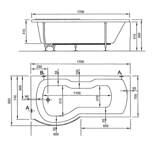 Technical drawing QS-V59783 / 52410001000