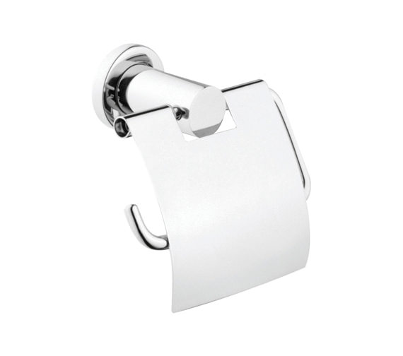 VitrA Ilia Toilet Roll Holder Chrome With Cover