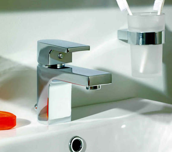 Essential Dusk Mini Basin Mixer Tap With Waste - ET114