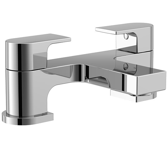 Essential Dusk 2 Hole Bath Filler Tap Chrome - ET109