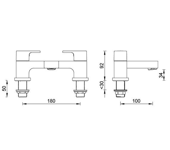 Technical drawing QS-V59830 / ET109