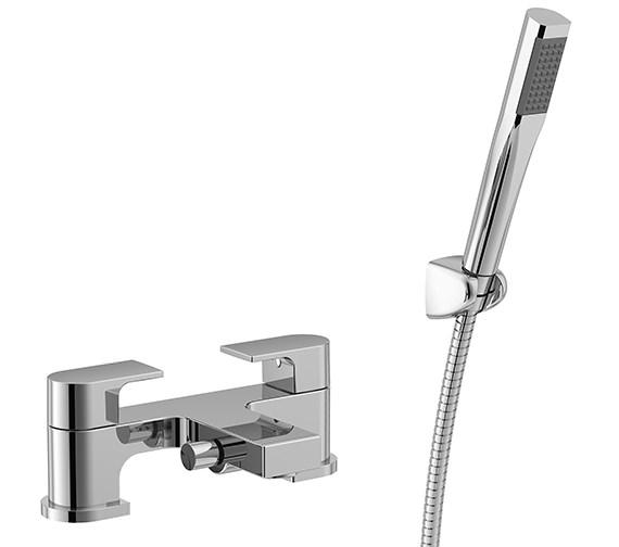Essential Dusk 2 Hole Bath Shower Mixer Tap - ET110