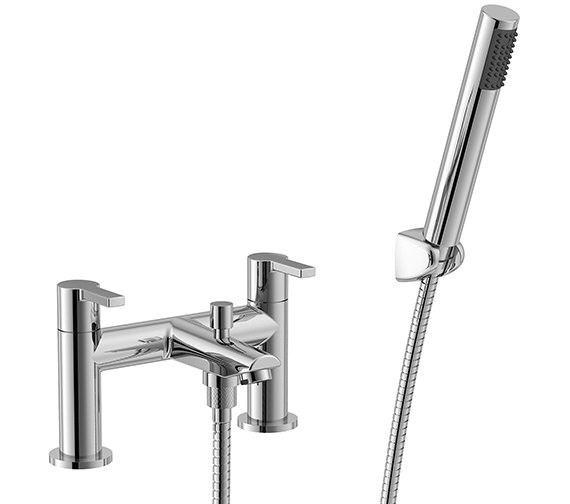 Essential Dawn 2 Hole Bath Shower Mixer Tap - ET113
