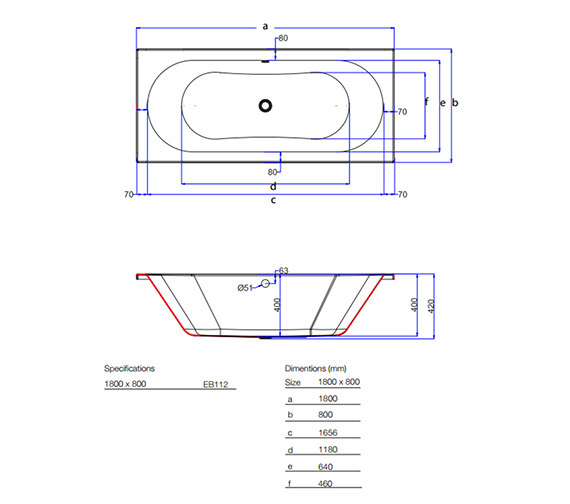 Technical drawing QS-V59844 / EB112