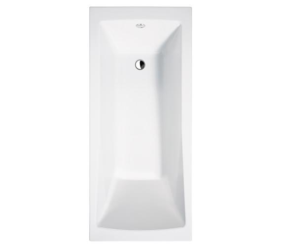 Essential Tide Single Ended Bath 1700x700mm White - EB114