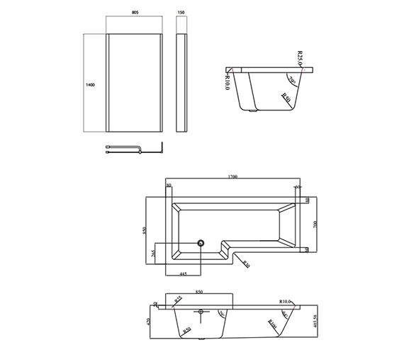 Technical drawing QS-V59852 / EBS001