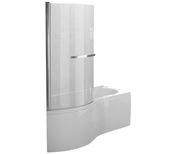 Essential Hampstead P Left Hand Shower Bath Pack 1500x900mm - EBP001