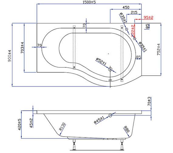 Technical drawing QS-V59855 / EBP002