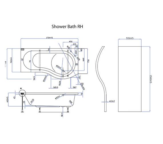 Technical drawing QS-V59856 / EBP004