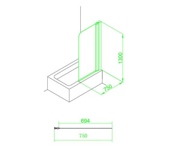 Technical drawing QS-V59858 / EB301