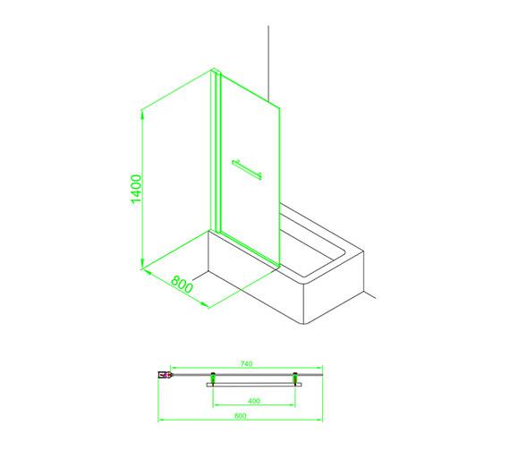 Technical drawing QS-V59859 / EB303
