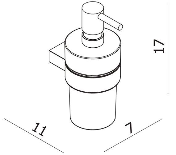 Technical drawing QS-V59883 / EA28021
