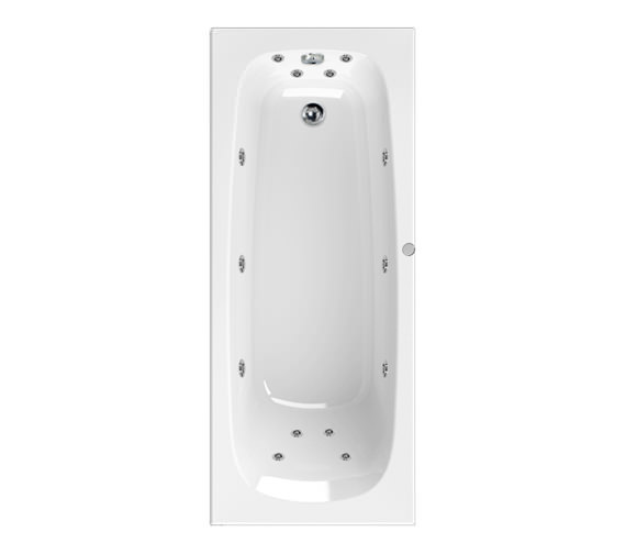 Aquaestil Mercury 1600 x 700mm 14 Jets Whirlpool Bath