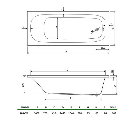 Technical drawing QS-V34737 / 154MERCURY1670