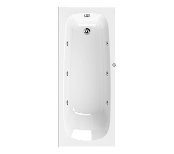 Aquaestil Mercury Eco 1700 x 700mm Whirlpool 6 Jets Bath