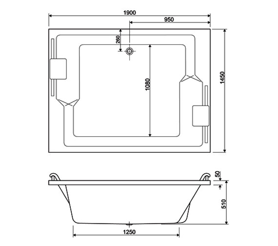 Technical drawing QS-V59989 / 154PLANEDUO1914