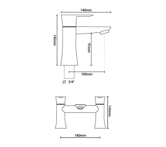 Technical drawing QS-V6004 / FIS005