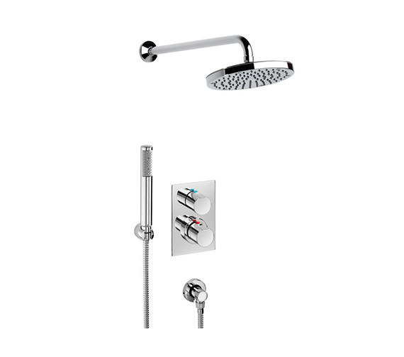 Roca Element Built-In Thermostatic Shower Mixer Kit - 5A2962C00