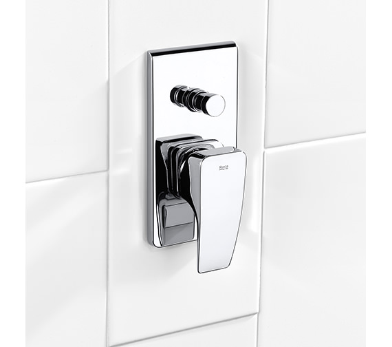 Roca Thesis Built-In Bath Shower Mixer - 5A0650C00
