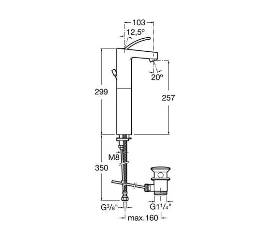 Technical drawing QS-V60071 / 5A3446C00