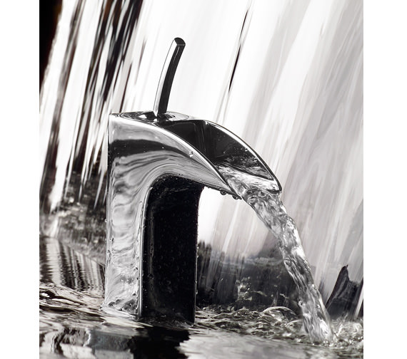 Roca Evol Basin Mixer Tap With Pop-Up Waste - Extended Tap Optional