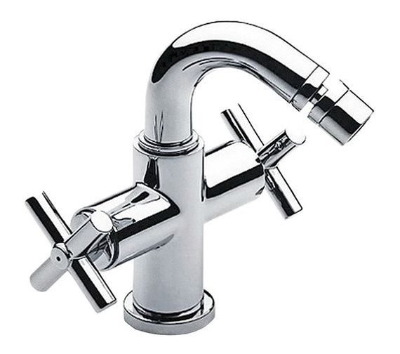 Roca Loft Bidet Mixer Tap With Pop-Up Waste - 5A6043C00