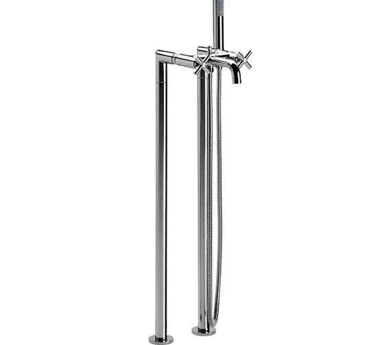Roca Loft Floor-Standing Bath Shower Mixer Tap With Kit - 5A2743C00