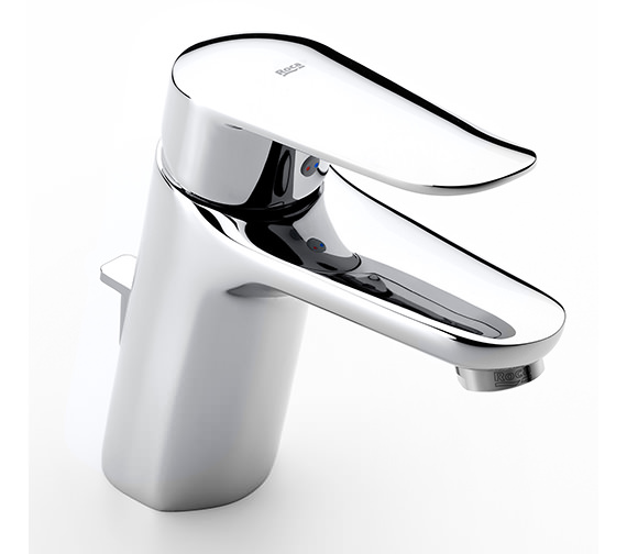 Roca Logica-N Basin Mixer Tap With Pop-Up Waste - 5A3027C00