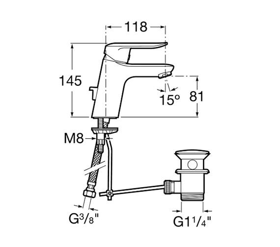 Technical drawing QS-V60141 / 5A3027C00