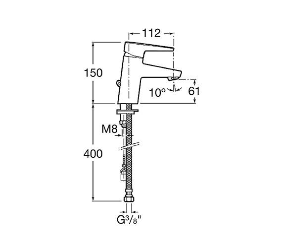 Technical drawing QS-V60150 / 5A3131C00