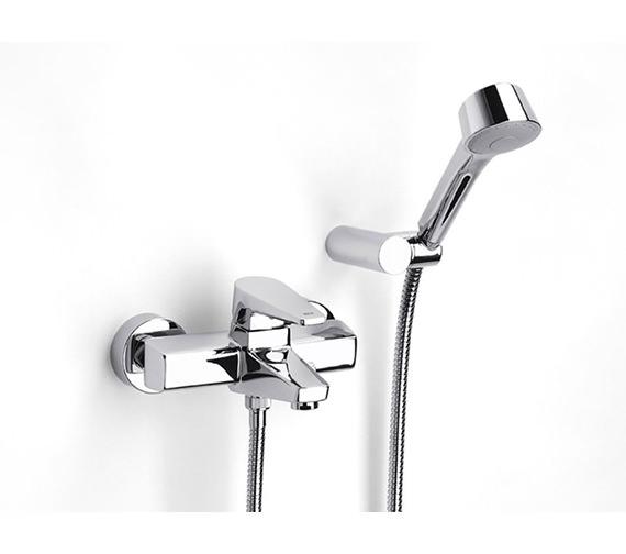 Roca Esmai Wall Mounted Bath Shower Mixer Tap With Kit