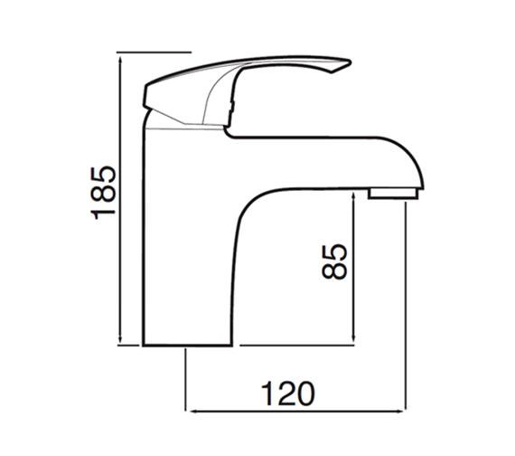 Technical drawing QS-V60187 / 5MF625C00