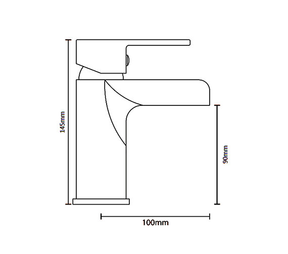 Technical drawing QS-V6018 / ZOE009