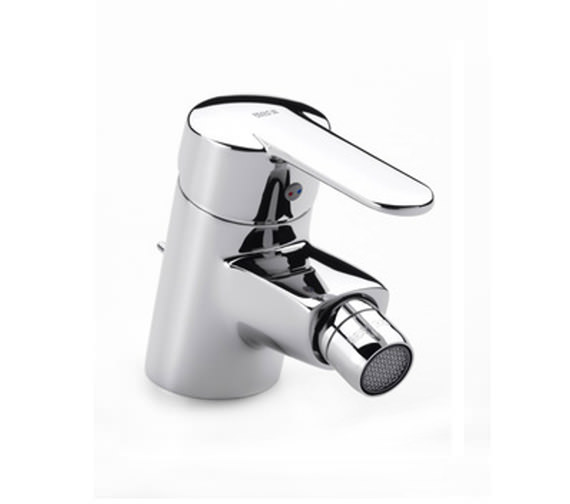 Roca V2 Bidet Mixer Tap With Pop-Up Waste - 5A6025C00