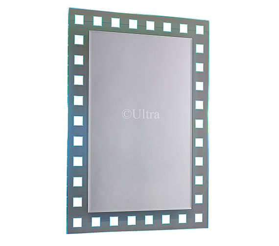 Ultra Spectrum Colour-Change Bathroom Mirror 500 x 700mm - LQ388 Image