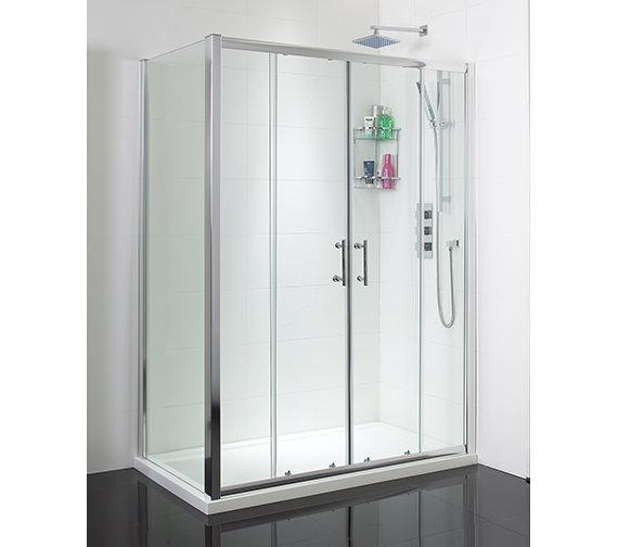 Phoenix Twin Sliding Shower Door 1500mm - SE049