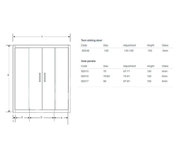 Technical drawing QS-V60469 / SE049