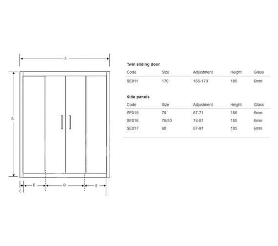 Technical drawing QS-V60471 / SE011